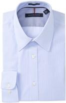 Tommy Hilfiger Twill Stripe Slim Fit Dress Shirt