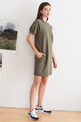 Velvet by Graham & Spencer Lucy Vintage Fleece Raglan Dress