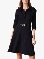Phase Eight Enola Belted Flared Dress