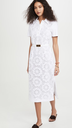 Tory Burch Lace Polo Dress