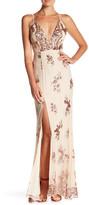 Minuet Sequin Maxi Gown