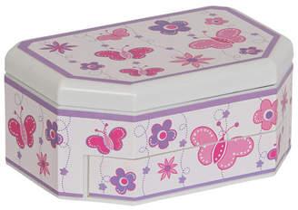 Mele Kelsey Girl Glitter-Fly Musical Ballerina Jewelry Box