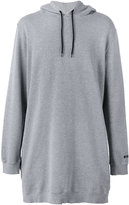 MSGM long hoodie - men - Cotton/Viscose - S