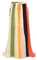 Chloé Silk Crépon Maxi Skirt