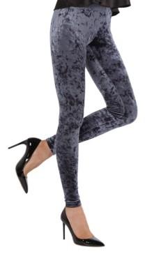 Me Moi Crushed Velvet Women's Leggings