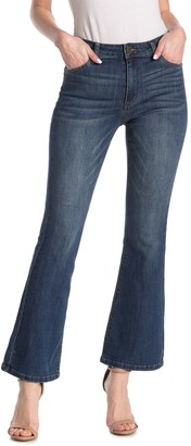 KUT from the Kloth Stephanie High Rise Flare Jeans