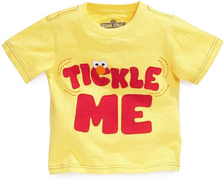 Nannette Toddler Boys' Sesame Street Tickle Me Elmo Tee