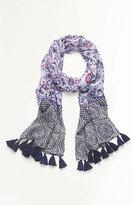 J. Jill Medallion Tapestry Scarf