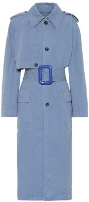 Acne Studios Cotton and linen trench coat