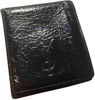 Saint Laurent Black Leather Small bags, wallets & cases