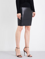 Wolford Estella leatherette pencil skirt