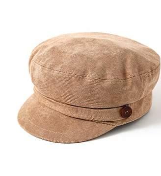 accsa Women Fashion Newsboy Cap Bakerboy Cabbie Gatsby Pageboy Visor Beret Hat Camel