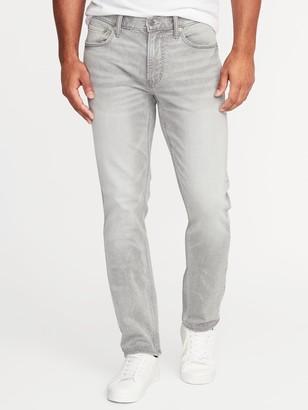 Old Navy Slim 24/7 Built-In Flex Gray Jeans For Men