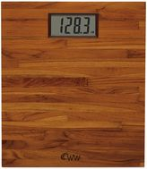 Weight Watchers by ConairTM Teak Digital Bathroom Scale