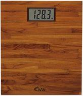 Weight Watchers by ConairTM Teak Digital Bathroom Scale