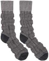 Issey Miyake Grey Weave Socks