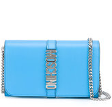 Moschino Letters clutch - women - Calf Leather/metal - One Size