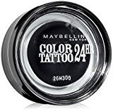 Maybelline Colour Tattoo 24 Hour Eye Shadow - 60 Timeless Black by