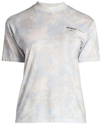 Off-White Tie-Dye Casual T-Shirt
