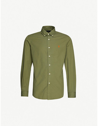 Polo Ralph Lauren Pony-embroidered custom-fit cotton shirt