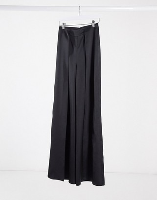Aq/Aq AQAQ spit front high waisted trousers