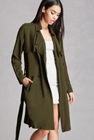 Forever 21 FOREVER 21+ Double-Breasted Trench Coat