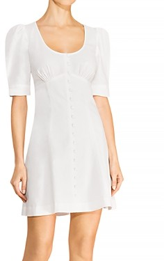 Parker Kierra Linen & Cotton Mini Dress