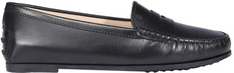 Tod's City Gommino Penny Bar Loafers