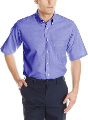 Red Kap Men's Executive Oxford Dress Shirt Short Sleeve