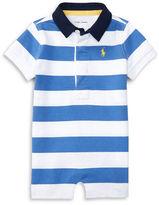 Ralph Lauren Baby Boys Baby Boy Short-Sleeve Cotton Striped Shortall