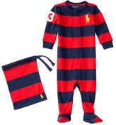 Ralph Lauren Rugby-Striped Cotton Sleep Set