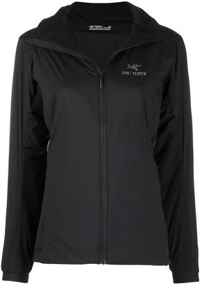 Arc'teryx Zip-Up Logo Print Jacket
