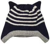 Emile et Ida Marine Striped Hat With Ears