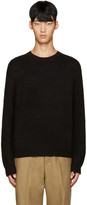 3.1 Phillip Lim Black Wool Boxy Sweater