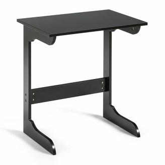 Overstock Coffee Tray Laptop Desk Sofa Side Table - Dark Brown