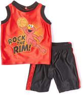 Children's Apparel Network Sesame Street Elmo Red 'Rock the Rim' Tank & Shorts - Infant