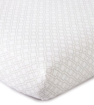 Levtex Baby Skylar Trellis Crib Fitted Sheet Bedding