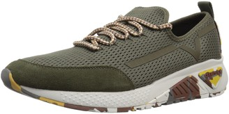 Diesel Men's SKB S-KBY Knit Sneaker Olive Night 8 M US