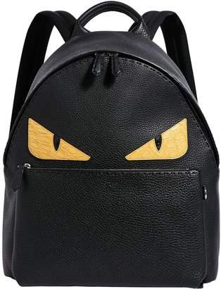 Fendi Bag Bugs Leather Backpack