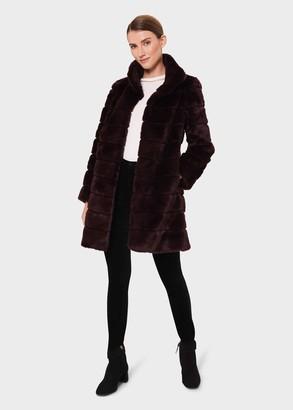 Hobbs Ros Faux Fur Coat
