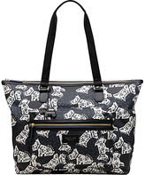 Radley Folk Dog Fabric Large Tote Bag, Black