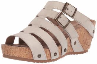 Walking Cradles Womens Tetra Bone Rustic Leather 6 WW (EE)