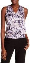 Laundry by Shelli Segal Sleeveless Printed Blouse