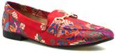 Qupid Red Floral Regent Loafer