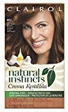 Clairol Natural Instincts Keratina Hair Color 6BZ Hazelnut Cream Kit, Light Chocolate Brown