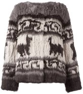 P.A.R.O.S.H. Peruvian print jacket