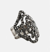 Avenue Stone Scroll Stretch Ring