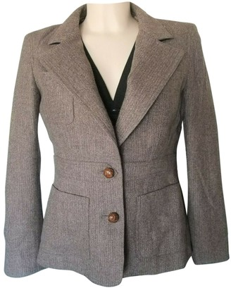 Bally Khaki Wool Jacket for Women Vintage