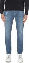 Brunello Cucinelli Distressed Slim-fit Skinny Jeans