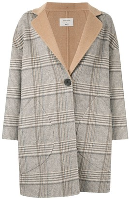 Onefifteen Checked Coat